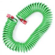 Шланг для полива спиральный 15 м с конекторами INTERTOOL GE-4002