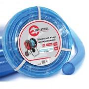 """Шланг для воды 3-х слойный 1/2"""", 30 м, армированный PVC INTERTOOL GE-4055"""