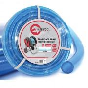 """Шланг для воды 3-х слойный 3/4"""", 10 м, армированный, PVC INTERTOOL GE-4071"""