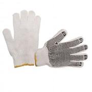 Перчатки с точечным покрытием PVC на ладони