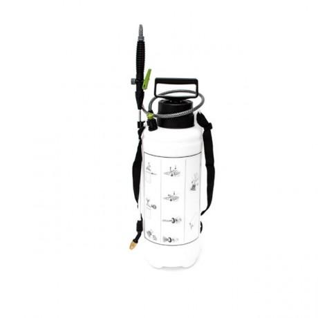 Опрыскиватель 8 л, 2 сопла латунь+пластик INTERTOOL FT-9006