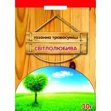 Семена Травы газонной Светолюбивая, 30 г