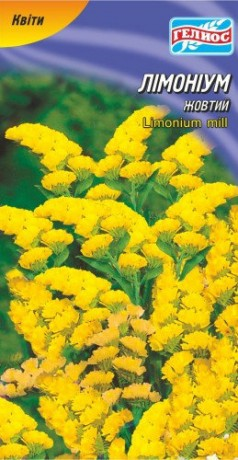 Семена Лимониум желтый, 0,05 г, ТМ Гелиос