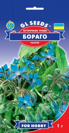 Семена Огуречная трава Бораго, 1 г, ТМ GL Seeds