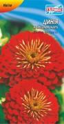 Семена Цинния Кримсон монарх, 30 шт., ТМ Гелиос