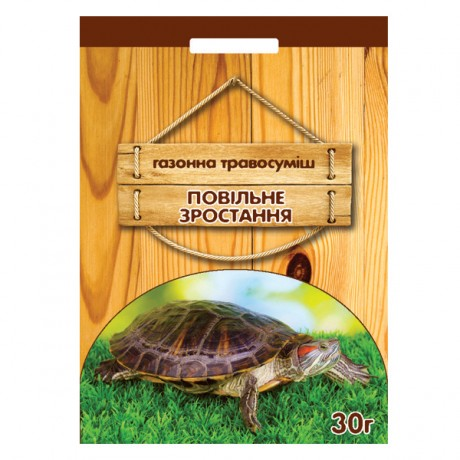 Семена Травы газонной Медленный рост, 30 г