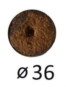 Кокосовая таблетка Ø36мм