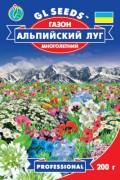 Семена Травы газонной Альпийский луг, 200 г