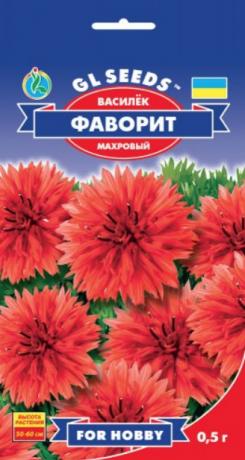 Семена Василёк Фаворит, 0.5 г, ТМ GL Seeds