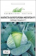 Семена капусты Мегатон F1, 20шт, Bejo, Голландия, ТМ Професійне насіння