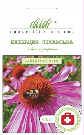 Семена Эхинацея лекарственная, 0.1 г, Hem Zaden, Голландия, ТМ Професійне насіння