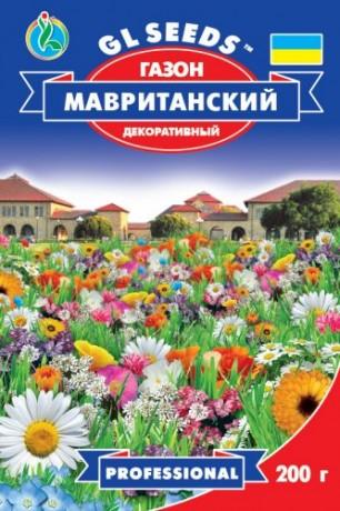 Семена Травы газонной Мавританский газон, 200 г