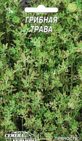 Семена Грибная трава, 1 г, ТМ Семена Украины