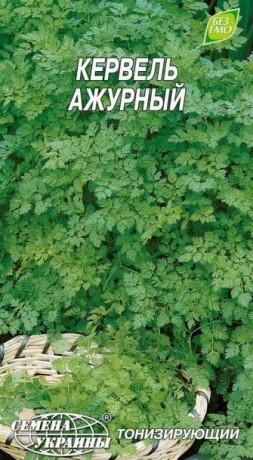 Семена Кервель ажурный, 1 г, ТМ Семена Украины