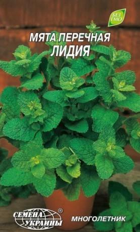 Семена Мята перечная Лидия, 0,1 г, ТМ Семена Украины