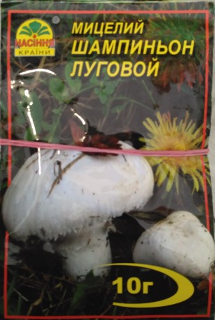 Мицелий Шампиньон луговой, 10 г
