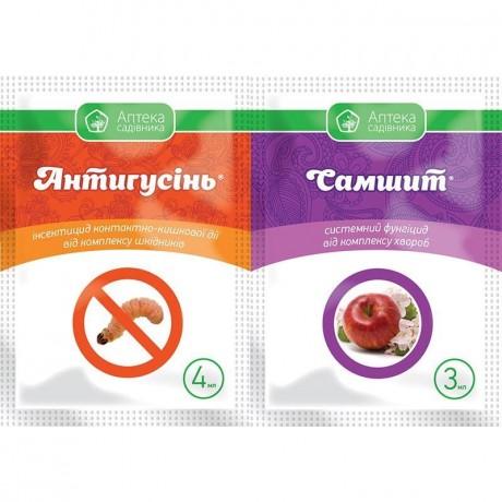 Инсектицид Антигусень 4 мл + Самшит 3 мл, Укравит
