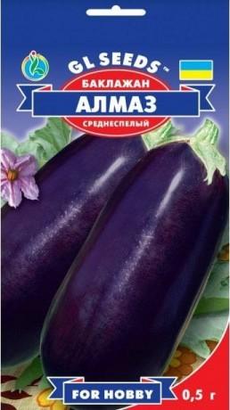 Семена Баклажана Алмаз, 0.5 г, ТМ GL Seeds