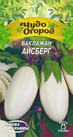Семена Баклажана Айсберг, 0.5 г, ТМ Семена Украины