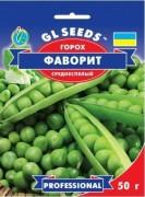 Семена гороха овощного Фаворит, 50 г, ТМ GL Seeds