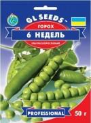 Семена Гороха Шесть Недель, 50 г, ТМ GL Seeds
