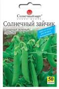 Семена Гороха Солнечный зайчик, 50 г, ТМ Солнечный Март