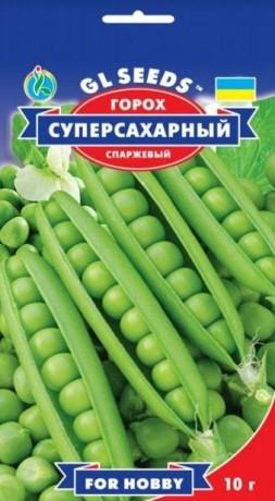 Семена Гороха Суперсахарный, 10 г, ТМ GL Seeds