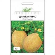 Семена Дыни Ананас, 0.5 г, Tezier, Франция, ТМ Професійне насіння