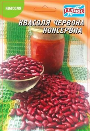 Семена Фасоли Консервная красная, 20 г, ТМ Гелиос