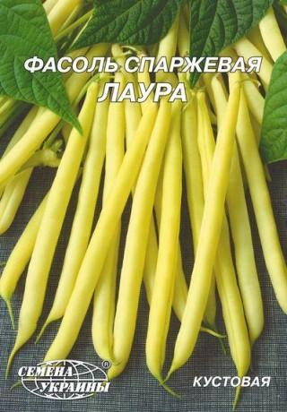 Семена Фасоли Лаура, 20 г, ТМ Семена Украины
