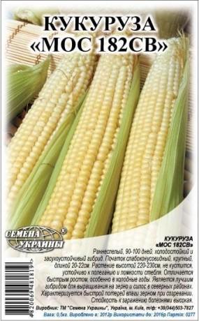 Семена Кукурузы корм. Мос 182СВ, 1 кг, ТМ Семена Украины