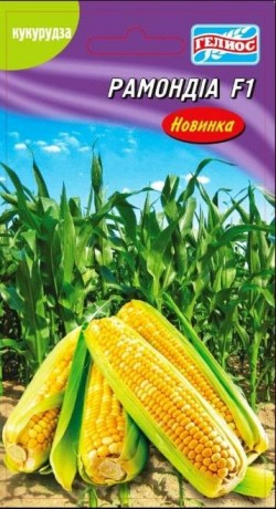 Семена Кукурузы Рамондиа F1, 10 г, Satimex, Германия, ТМ Гелиос