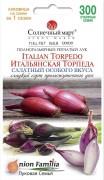 Семена Лука Итальянская Торпеда, 300 шт., ТМ Солнечный Март