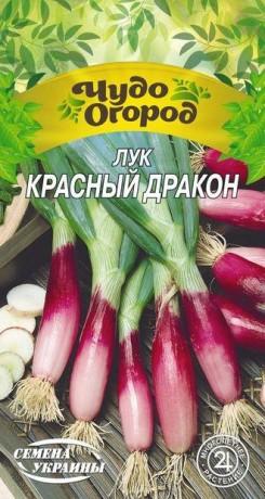Семена Лука-батун Красный дракон, 0.25 г, ТМ Семена Украины