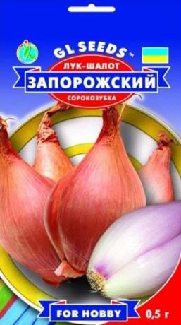 Семена Лука-шалот Запорожский, 1 г, ТМ GL Seeds