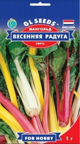 Семена Мангольда Весенняя Радуга, 3 г, ТМ GL Seeds
