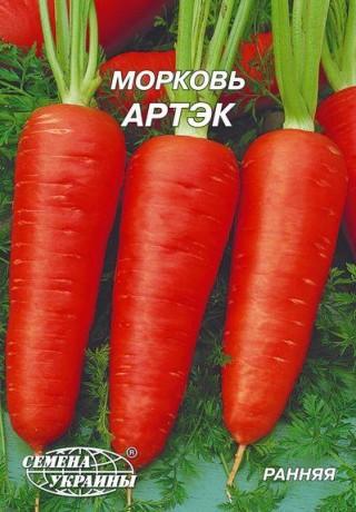 Семена Моркови Артэк, 10 г, ТМ Семена Украины