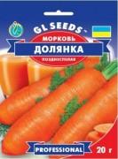 Семена Моркови Долянка, 20 г, ТМ GL Seeds