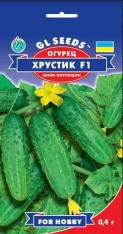 Семена Огурца Хрустик F1, 0.5 г, ТМ GL Seeds
