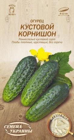Семена Огурца Кустовой корнишон, 1 г, ТМ Семена Украины