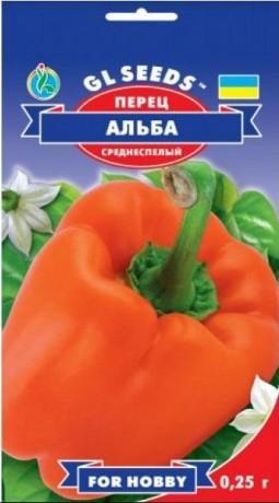 Семена Перца Альба, 0,25 г, ТМ GL Seeds