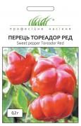 Семена Перца Тореадор Рэд F1, 0.2 г, Anseme, Италия, ТМ Професійне насіння