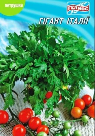 Семена Петрушки Гигант Италии, 10 г, ТМ Гелиос