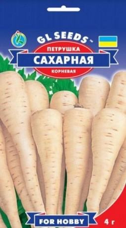 Семена Петрушки корневой Сахарная, 3 г, ТМ GL Seeds