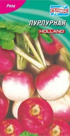 Семена Репы Пурпурная, 150 шт., ТМ Гелиос