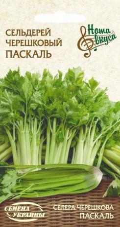 Семена Сельдерея черешкового Паскаль, 0,5 г, ТМ Семена Украины
