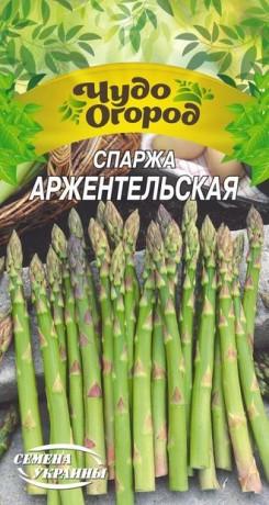 Семена Спаржи Аржантейльская, 1 г, ТМ Семена Украины