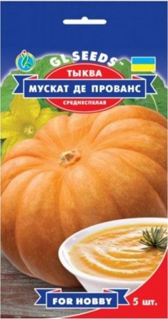 Семена Тыквы Мускат де Прованс, 5 шт., ТМ GL Seeds