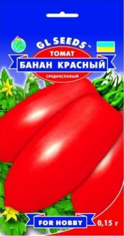 Семена Томата Банан Красный, 0.15 г, ТМ GL Seeds