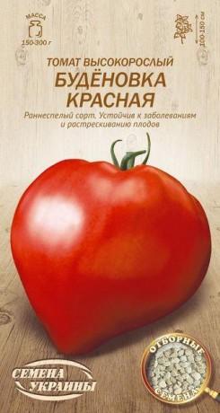 Семена Томата Буденовка красная, 0,1 г, ТМ Семена Украины